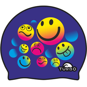 Turbo Smiling badmuts blauw